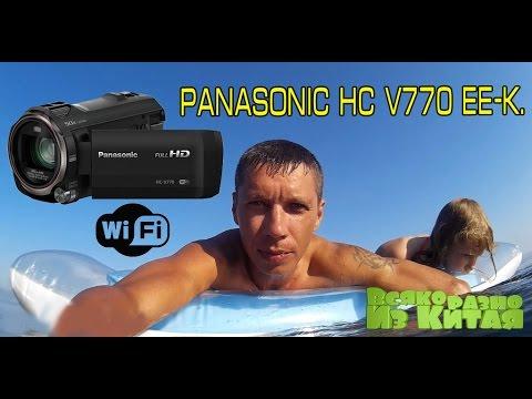 Я Купил Новую Видеокамеру! Panasonic HC V770 EE-K. Чем Снимают Топовые Блоггеры?