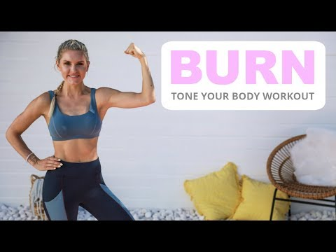 Burn Workout - TONE YOUR BODY | Rebecca Louise