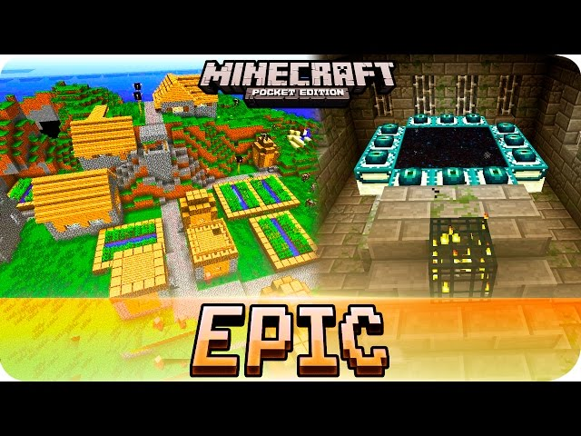 how to find the end minecraft pe