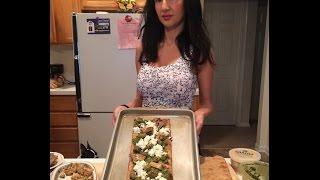 Artichoke & Grilled Olive Flatbread