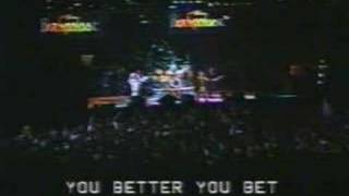 The Who - You Better You Bet