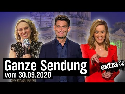 Extra 3 vom 30.09.2020 mit Christian Ehring | extra 3 | NDR