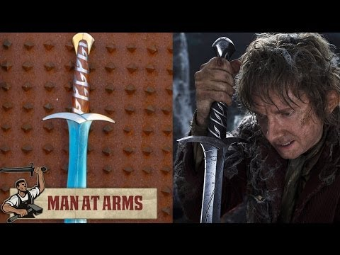 Bilbo - More Legendary Swords with Vsauce2 ▻ http://bit.ly/1cV3s3n Which weapon will be next? ▻ Subscribe! http://bit.ly/AWEsub Every other Monday, master swordsmith...