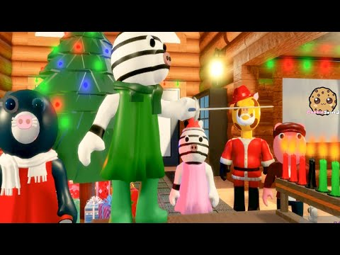 Escape The Christmas Winter Holiday Piggy Roblox Map  Cookie Swirl C