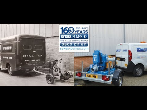 160 Years of Sykes Pumps
