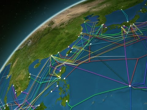 Animated Map Reveals The 550 000 Miles Of Cable Hidden Under The Ocean That Power The