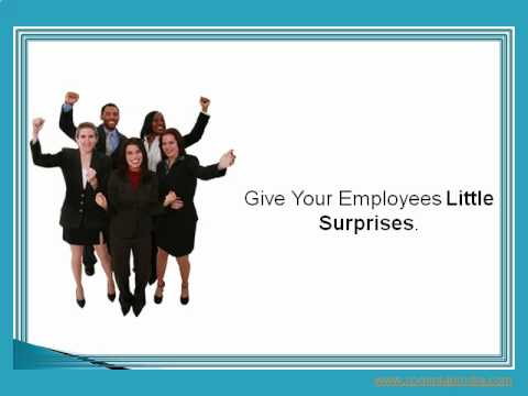 Recognition - Creative ways to thank employees for their excellence in doing the job well. Here is presentation on ideas for employee recognition and appreciation.http://b...