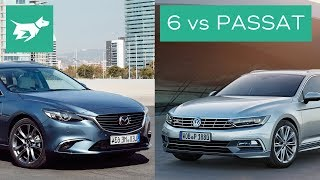 We compare two of the best wagons – the Mazda 6 and Volkswagen Passat. See who wins our Passat vs Mazda 6 comparison –and let us know in the comments which wagon is best, in your opinion! SUBSCRIBE and join our car community! http://www.youtube.com/user/chasingcarsaustralia?sub_confirmation=1Comparison of the Mazda 6 estate / Mazda 6 wagon and Volkswagen Passat estate / Passat variant / Passat wagon.Compares interiors, practicality, price, and driving of the Mazda 6 vs Volkswagen Passat.COMMENT your thoughts below and SHARE with your friends.Read more about the Volkswagen Passat vs Mazda 6 here: http://chasingcars.com.au/Australian video car review of the 2017 Mazda 6 GT Wagon and 2017 Volkswagen Passat 206TSI R-Line. See more video car reviews and Volkswagen news and Mazda news at http://chasingcars.com.au.Music by Audionautix:https://audionautix.com