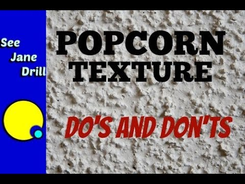 Don't Remove Your Popcorn Ceiling Without Watching This First
