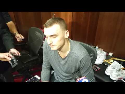 Sam Dekker after Rockets lost to Warriors