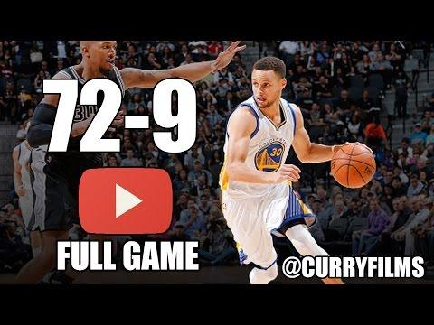 Golden State Warriors vs San Antonio Spurs - Full Game Highlights - April 10, 2016 - 2016 NBA Season (видео)
