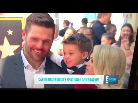 Carrie Underwood on E!News for Hollywood Walk of Fame Star