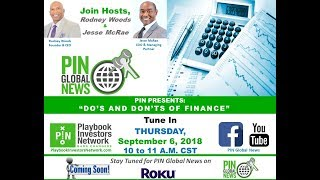 PIN GLOBAL NEWS - Do's and Don'ts of Finance