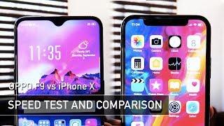 Download Video OPPO F9 vs iPhone X SPEED TEST | Zeibiz MP3 3GP MP4