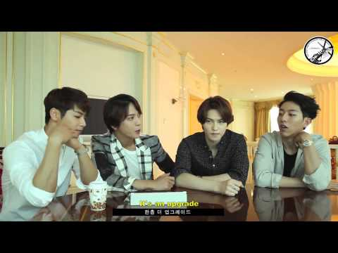 [ENG SUB] 140618 CNBLUE Reaction to AOA – Short Hair