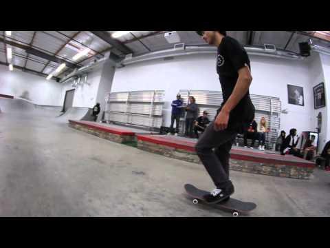 Transworld Skatepark Nyjah Huston & Dominick Walker 2012