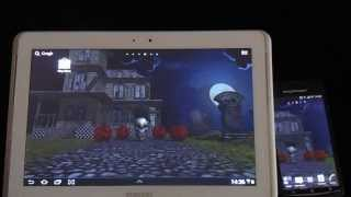 3D Halloween Live Wallpaper FR YouTube video