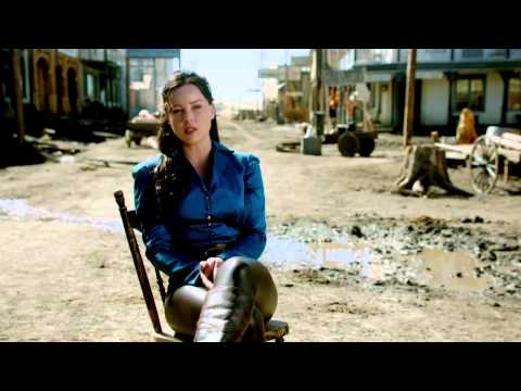 "Klondike: Abbie Cornish ""Belinda Mulrooney"" On Set Interview Part 2"