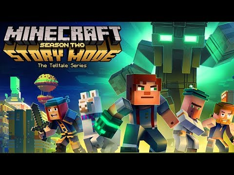 Minecraft Story Mode Season 2 (Episodes 1-5) All Cutscenes Game Movie 1080p 60FPS