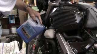 8. BMW G650 GS Coolant Change DIY