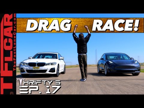 Is The Tesla Model 3 OR The BMW 3 Series The Best Sedan In The World?  Thrifty 3 E.17