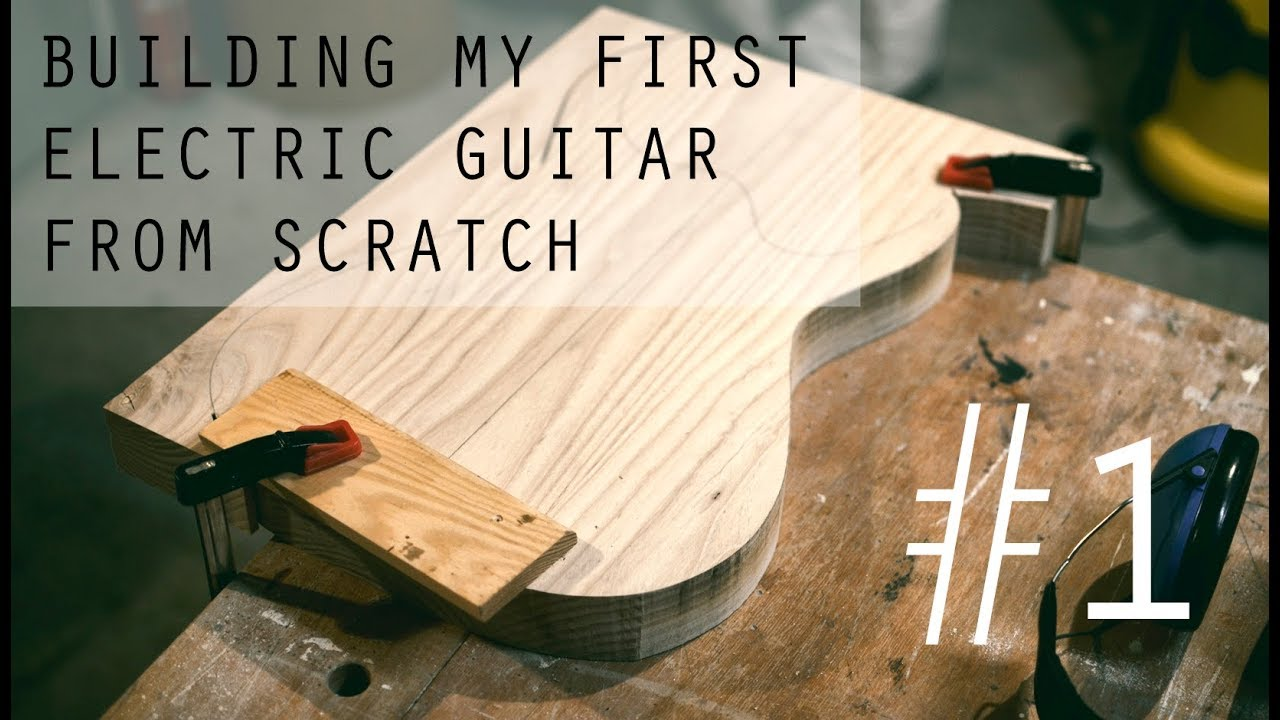 Building My First Electric Guitar | Update 1