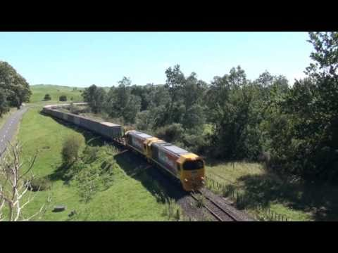 Kiwirail's New DL Class in Action