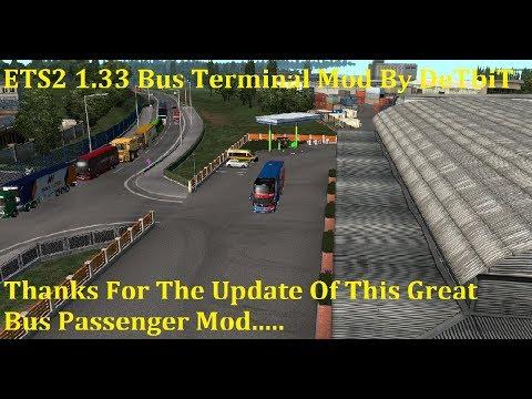 Bus Terminal Passenger Mod 1.33