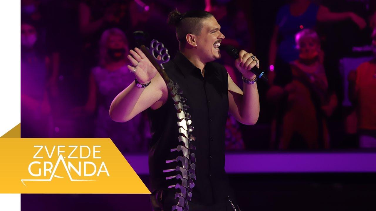 Isak Šabanović – Sinoć sam pola kafane popio – finale – (26. 06.) – treći krug – sedamdeset četvrta emisija