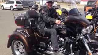 3. Firing up 2013 Harley Davidson Trike Glide Ultra Classic 110th Anniversary Edition