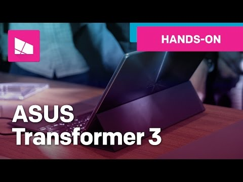 ASUS Transformer 3 hands-on