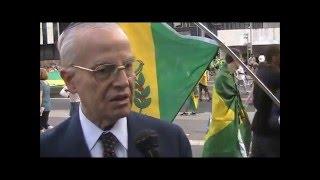 Na manifestação da Avenida Paulista, príncipe Bertrand Maria José de Orléans e Bragança afirmou que, após 127 anos,...