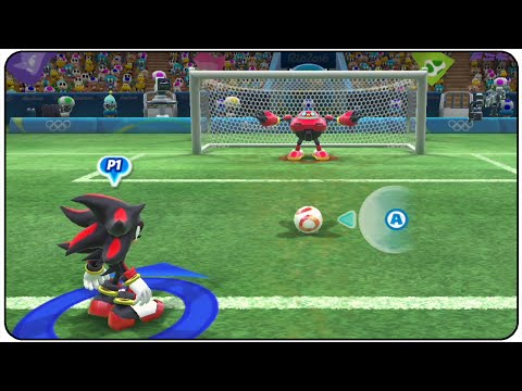 Mario And Sonic At The Rio 2016 Olympic Games (Wii U) - All Characters Football Gameplay