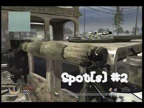 4 Invasion Camping Spots/Tips (CoD Modern Warfare 2 MW2)