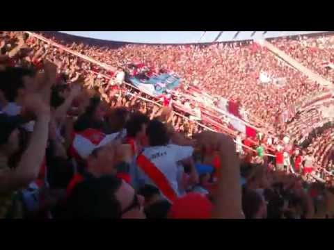 Video - Hinchada de River vs San Lorenzo - Torneo largo 2015 - Los Borrachos del Tablón - River Plate - Argentina