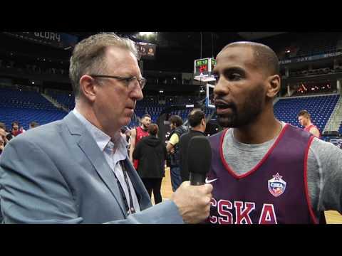 Pre-game Interview: Aaron Jackson, CSKA Moscow