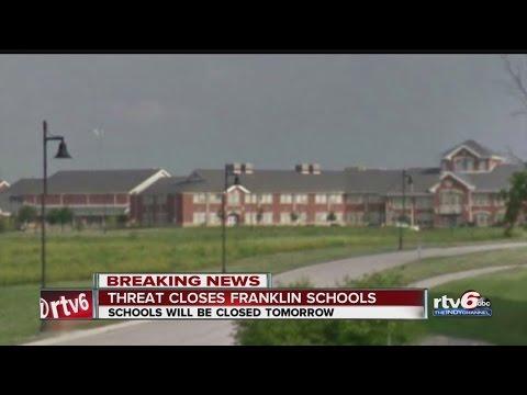 Threat closes Franklin schools