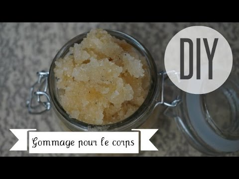 comment appliquer gommage corps