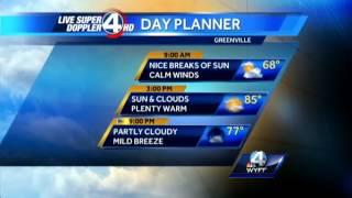 Pamela Wright's Wake-up Forecast For Friday, September 20, 2013