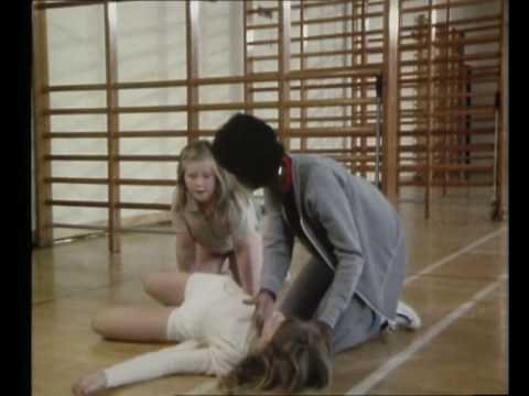 Sally Forsyth Collapses In Gym