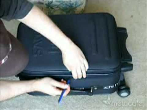 How secure is your locked luggage?