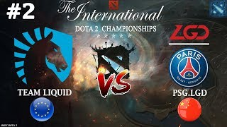 Битва ТИТАНОВ TI8 | Liquid vs PSG.LGD #2 (BO3) | The International 2018