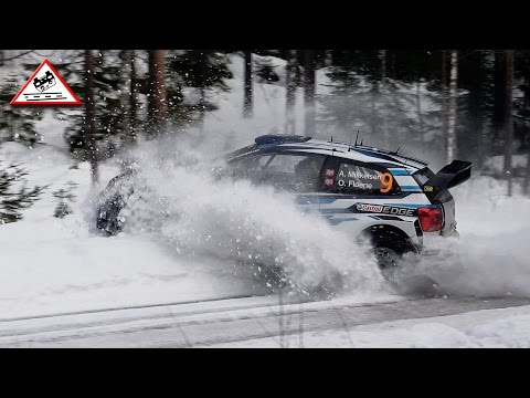 Vídeo salida de pista Mikkelsen Power Stage WRC Rally Suecia 2015