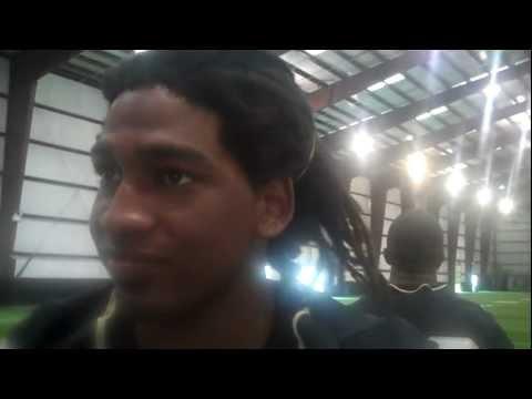 UCF's Kemal Ishmael Media Day 8/5/2011 video.