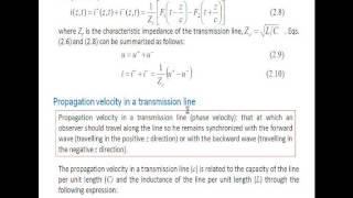 Umh2286 2012-13 Lec004 Líneas De Transmisión. Teoría De Parámetros Distribuidos 1
