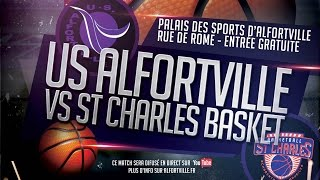 Alfortville France  city photo : Basketball - Match de championnat - Alfortville vs Charenton - Nationale Masculine 3