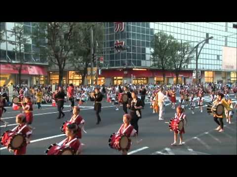 2011うえの夏まつり さんさ踊り 黒門小学校