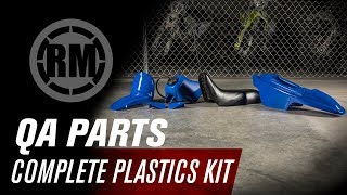 5. QA Parts Yamaha PW50 Complete Plastic Kit