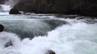 شلالات شترباتشكي بوك على نهر الأونا