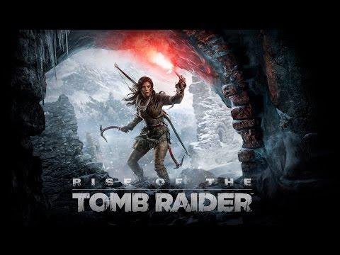 Девушка учится играть в Rise of the Tomb Raider